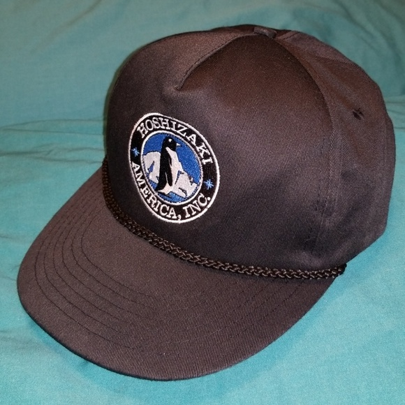 Vintage EUC Hoshizaki America Snapback. M 5b848b28a31c3370e169779a. Other  Accessories you may like. Vintage Adidas Spell Out Trefoil Cotton Dad Hat 5f03243a1a8a